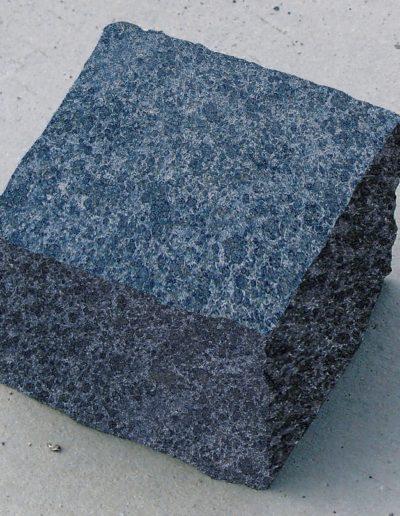 Basalt geflammte Oberfläche