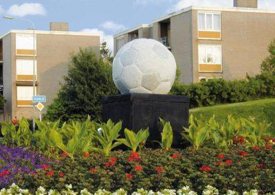 Fussball Granit