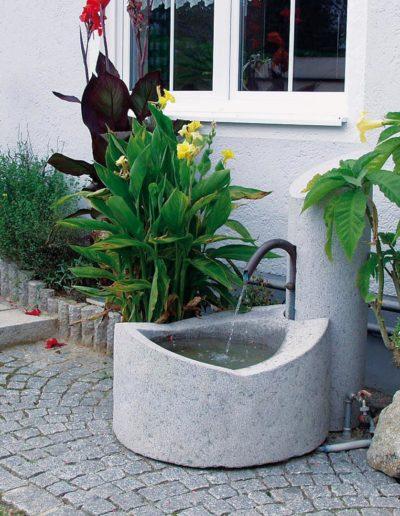 Futura Brunnen Granit