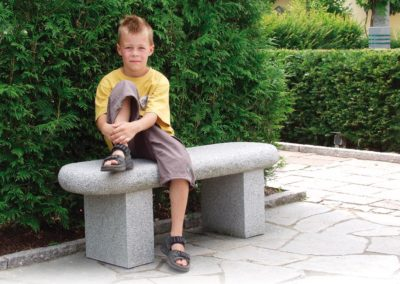 Waldbank Granit